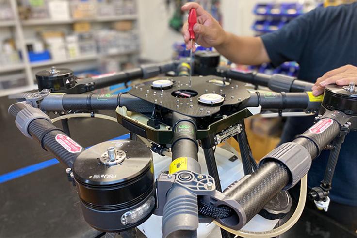 イメージ:機体開発販売事業